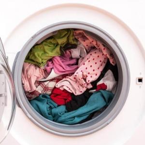 Colada en la lavadora