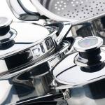 Cómo limpiar acero inoxidable de electrodomésticos y accesorios de cocina