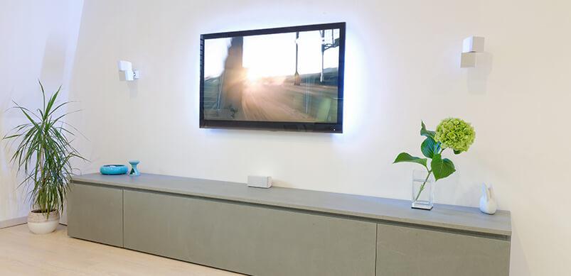 Altura óptima televisor