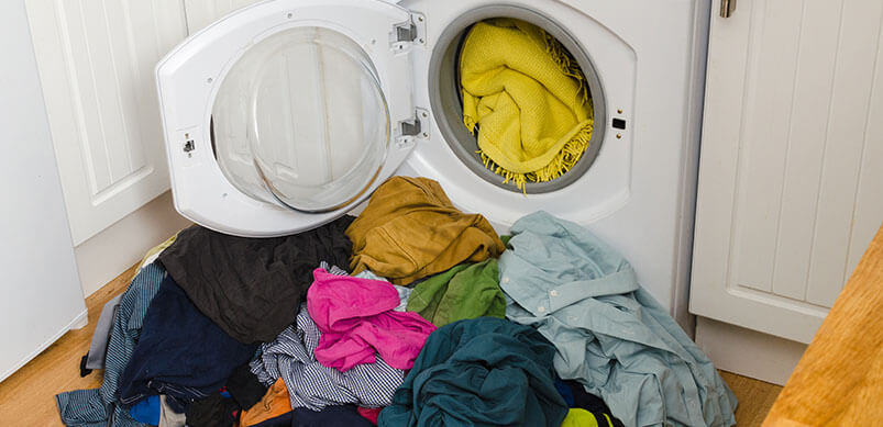 Sobrecargar lavadora