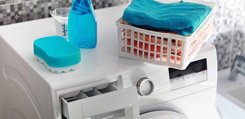 limpiar dispensador lavadora