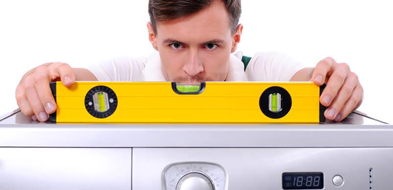 nivelar lavadora