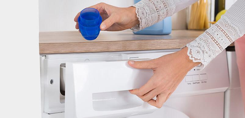 usar detergente