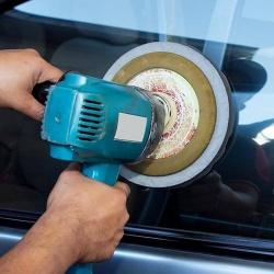 Pulir el coche con taladro