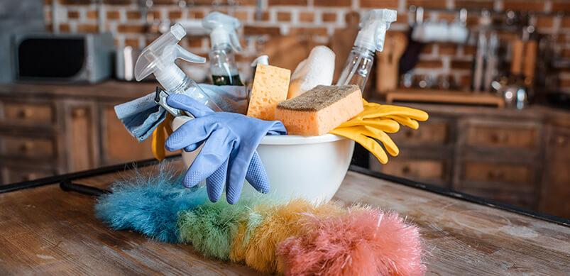 Limpia y evita la propagación de gérmenes en tu cocina